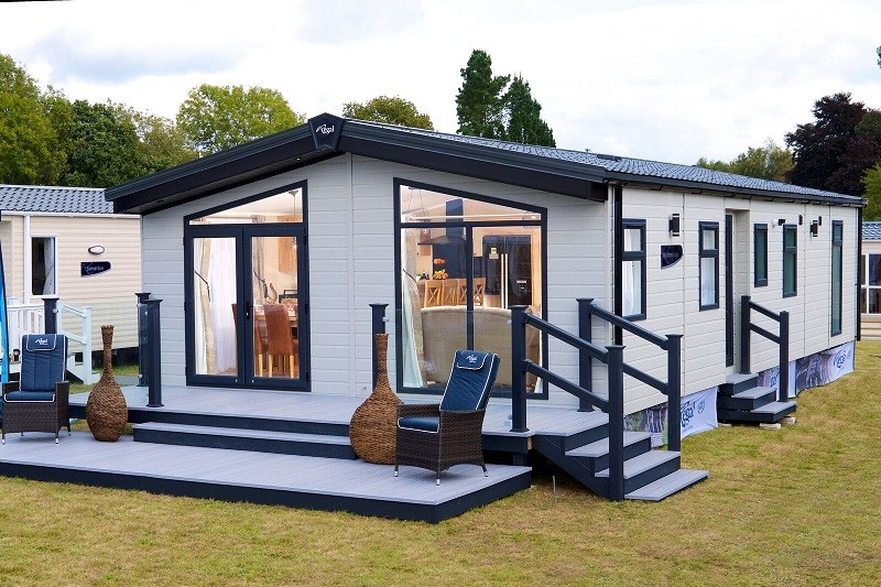 Mobilhome style chalet