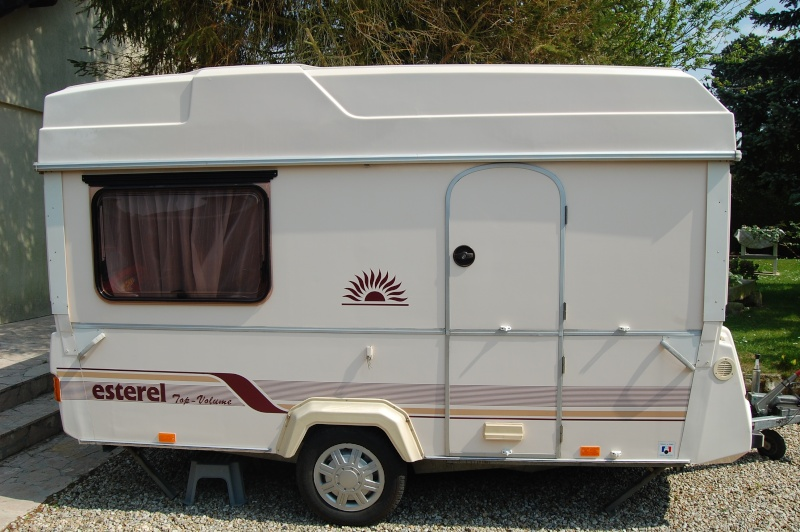Caravane pliante rigide esterel top volume