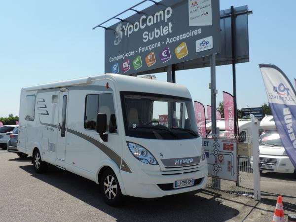 Camping car hymer exsis occasion