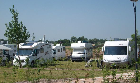 Aire camping car reims