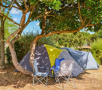 Vacance camping emplacement