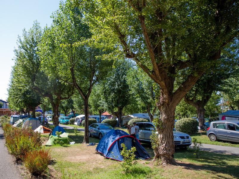 Vacance camping tente espagne