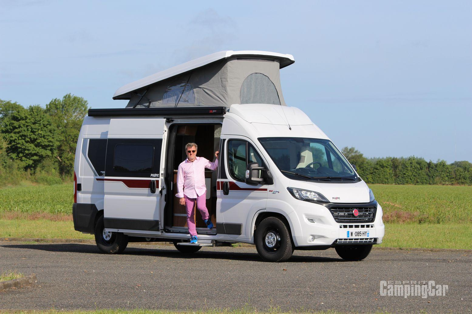 Fourgon camping car toit relevable occasion