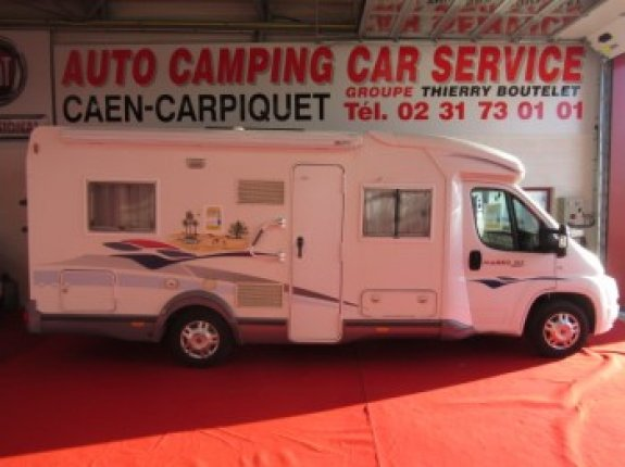Camping car occasion boutelet caen