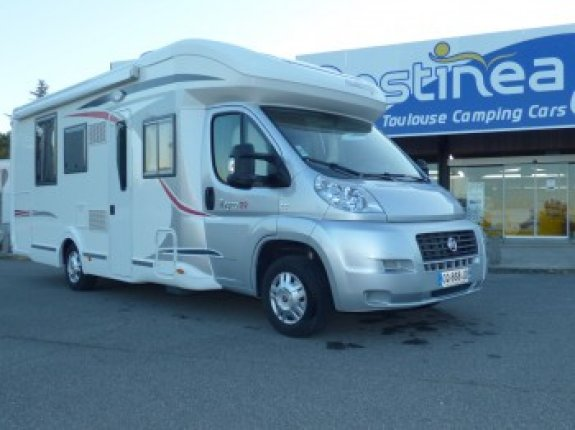 Bequille camping car occasion