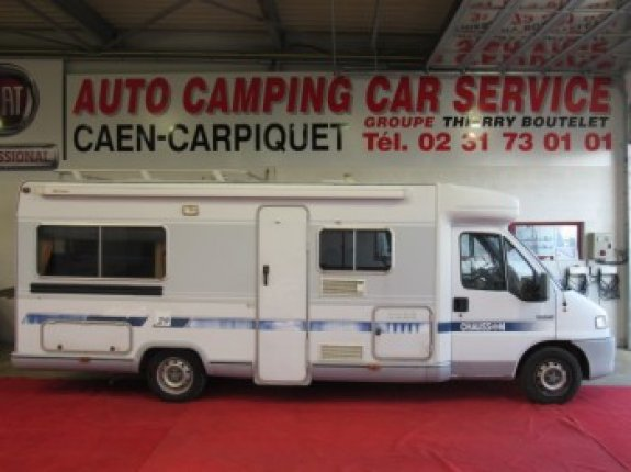 Camping car chausson 100 occasion
