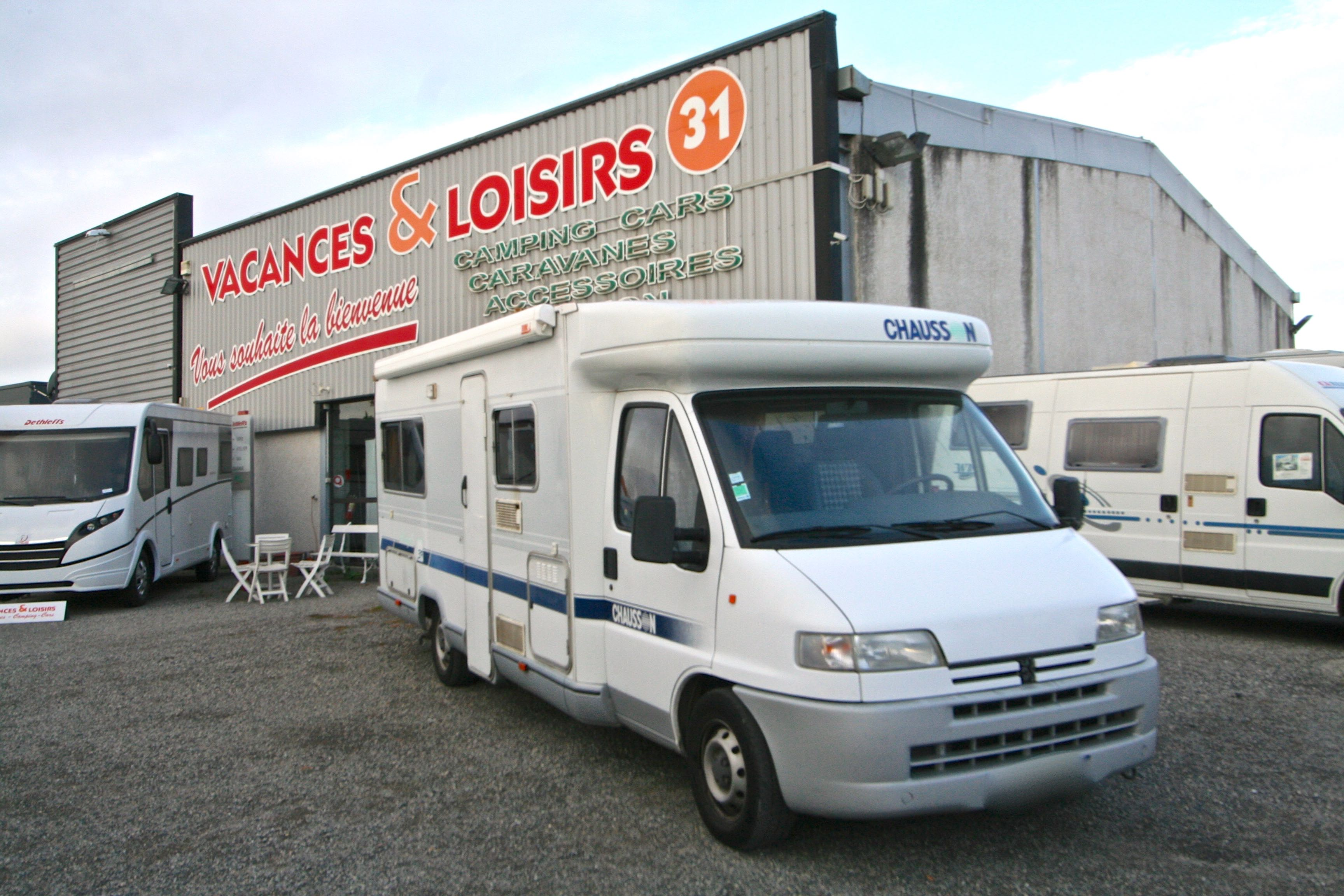 Camping car chausson occasion particulier