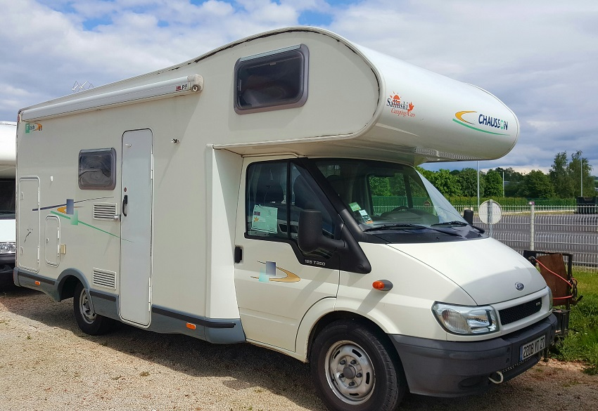 Camping car chausson flash occasion