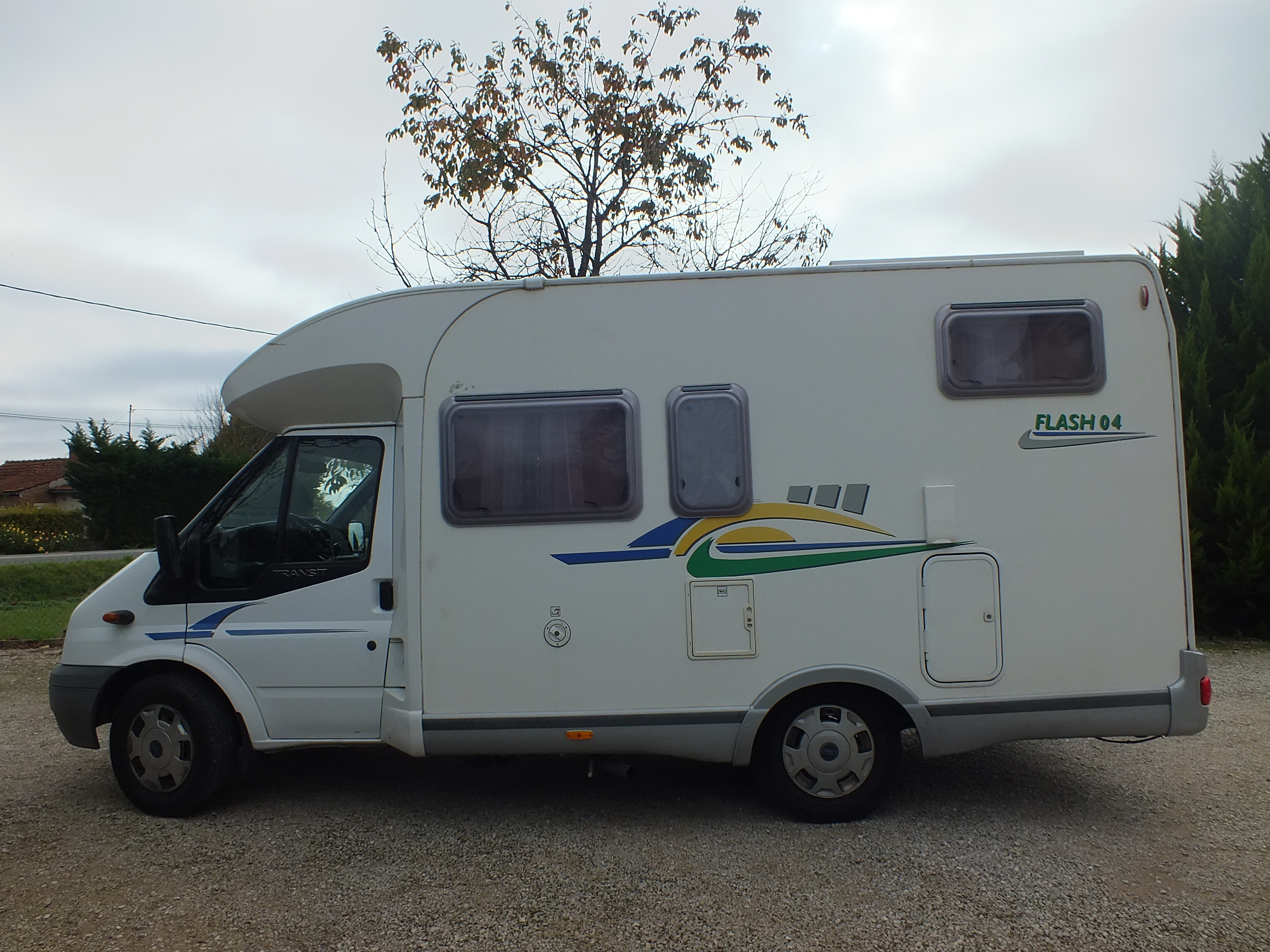 Camping car occasion jura