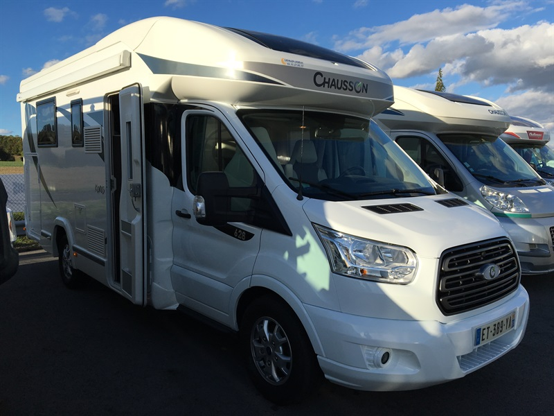 Camping car chausson 628 eb occasion
