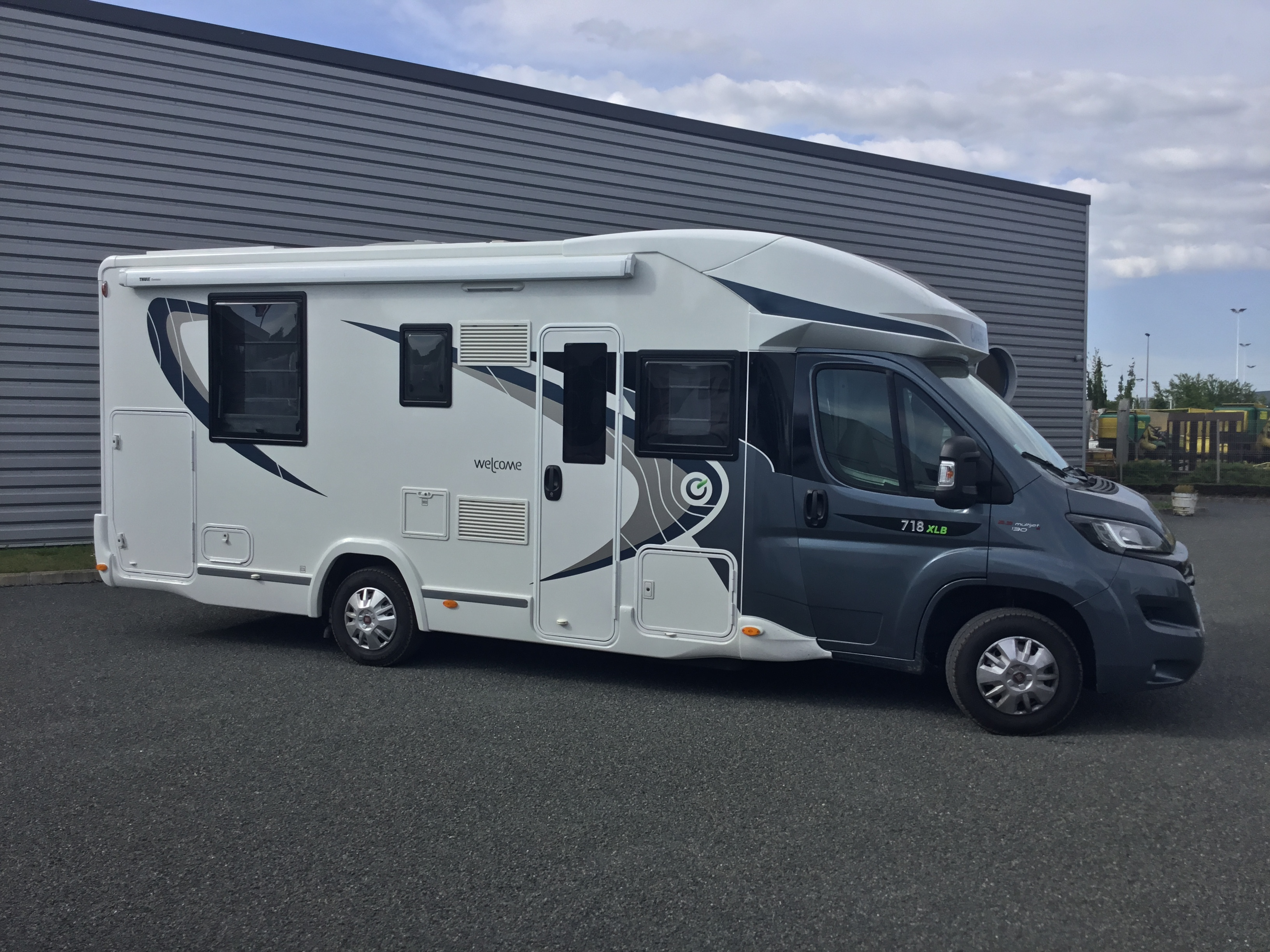 Camping car chausson welcome 718 eb occasion