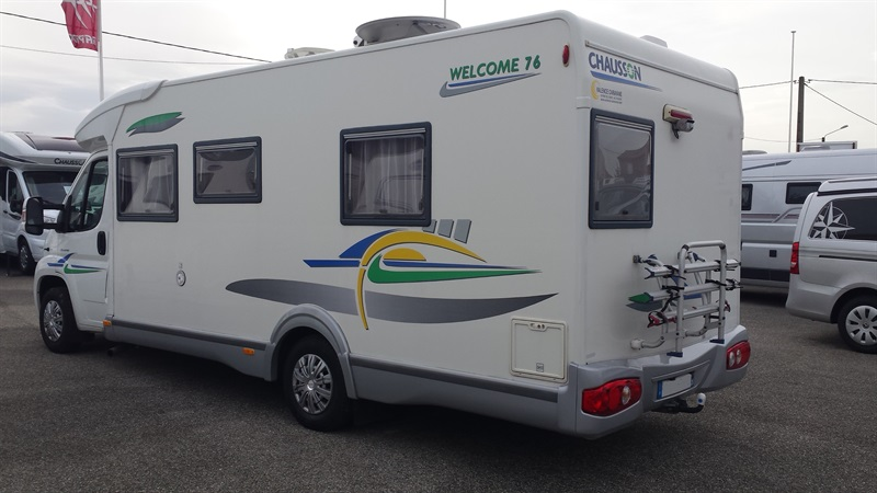 Camping car chausson welcome 76 occasion
