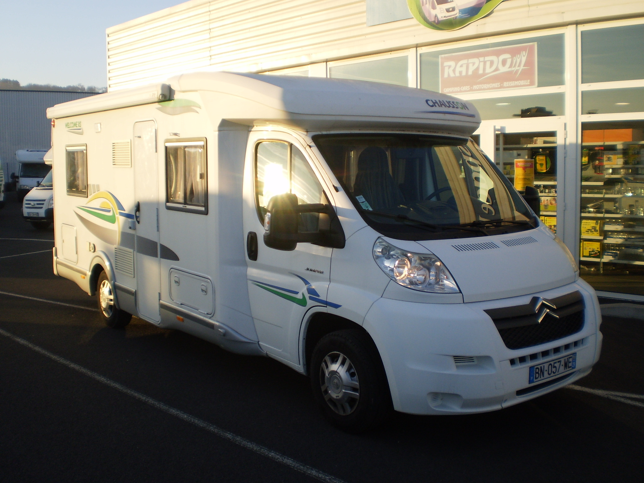Camping car chausson welcome 85 occasion