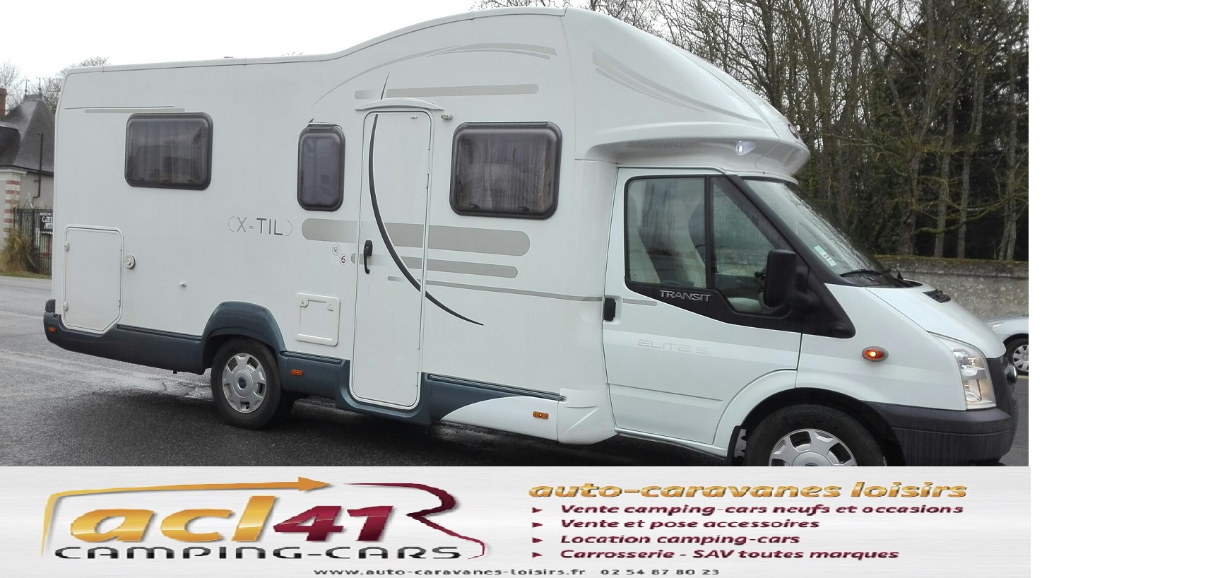 Camping car chausson twist 02 occasion