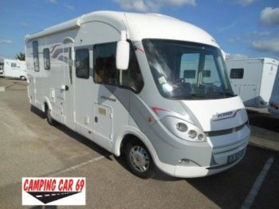 Camping car fleurette discover occasion