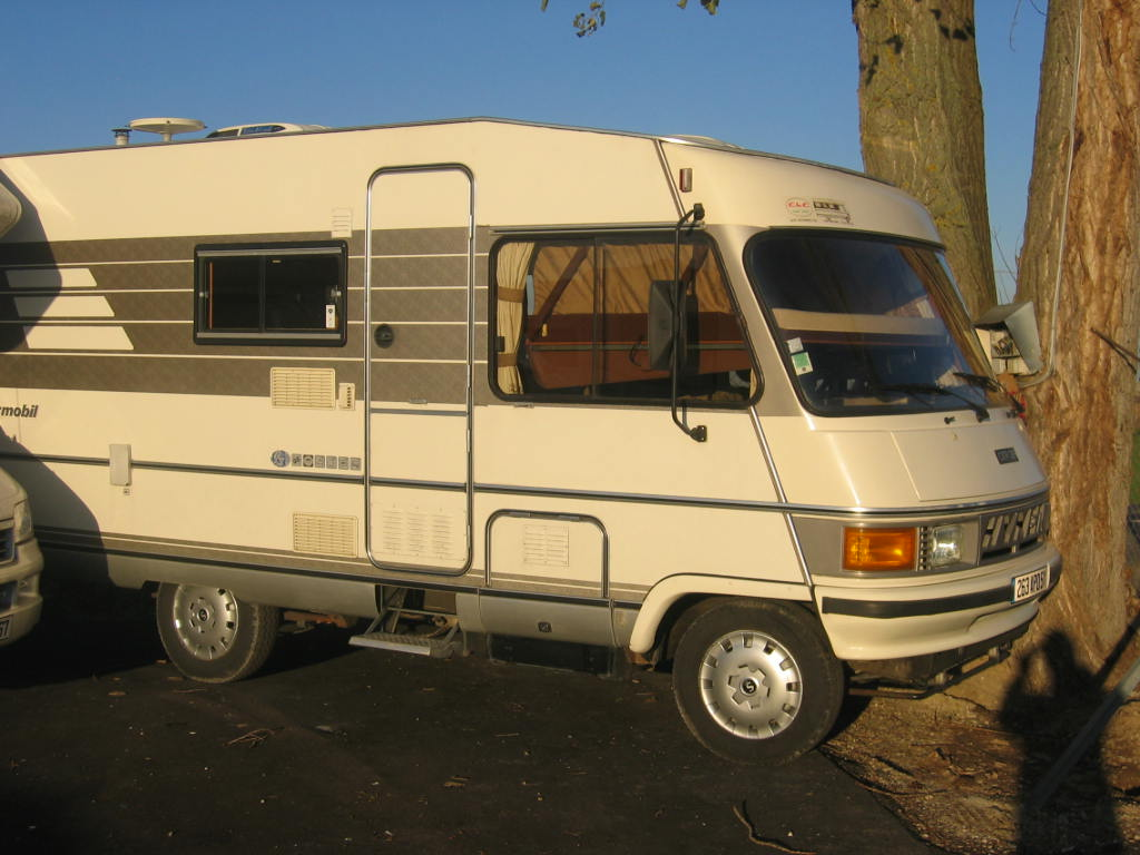 Camping car occasion integral hymer camping car vasp