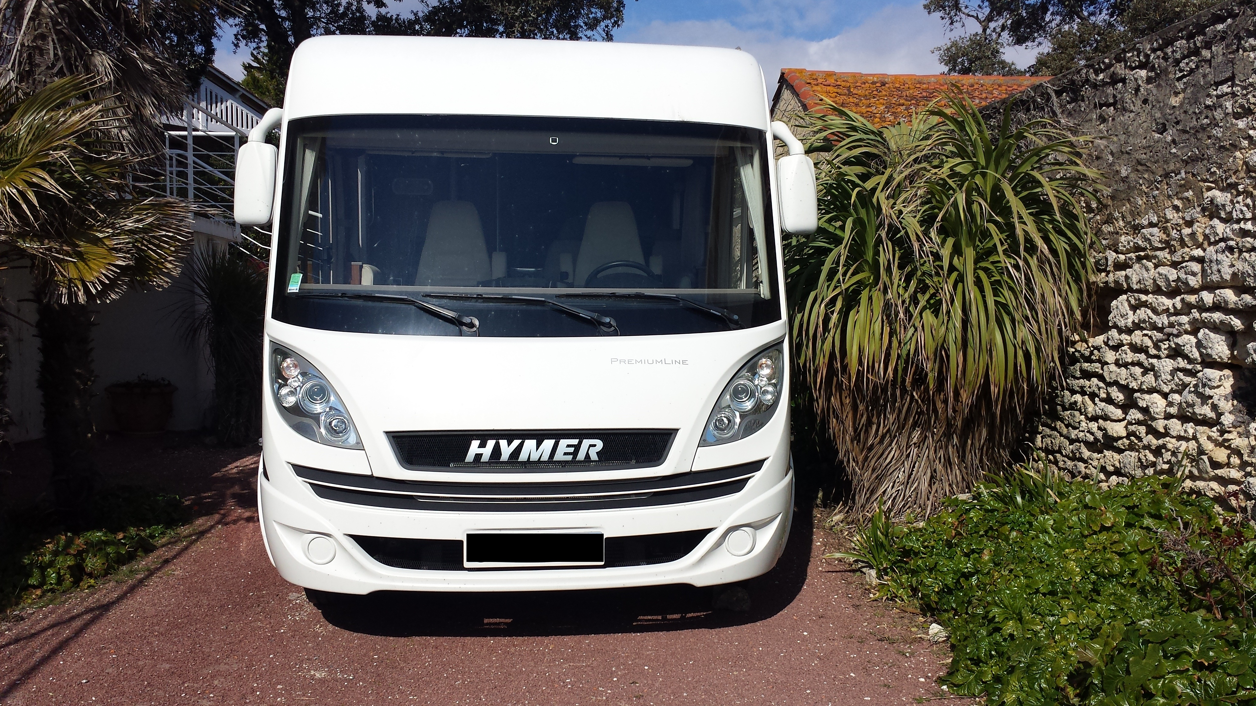 Camping car hymer b 598 occasion