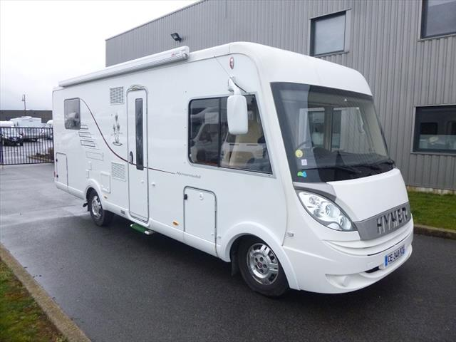 Camping car hymer poids lourd occasion