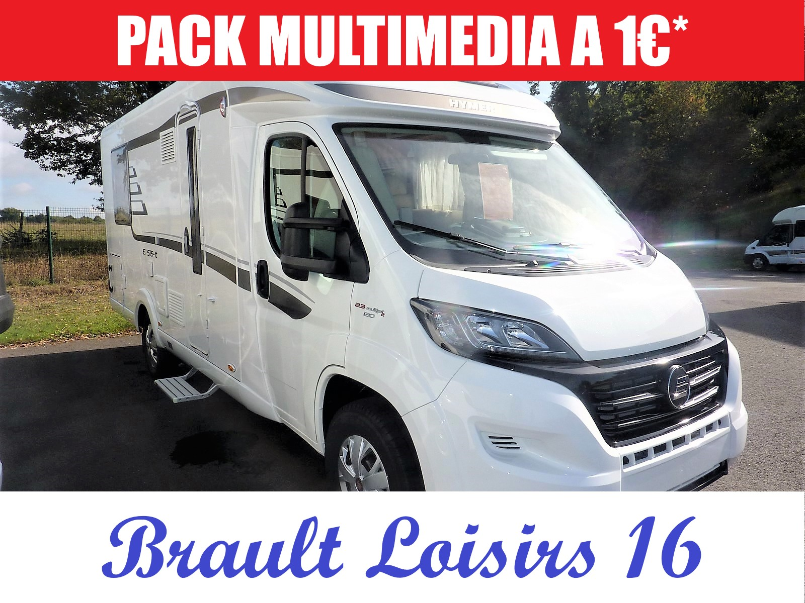 Camping car hymer exsis i 598 occasion
