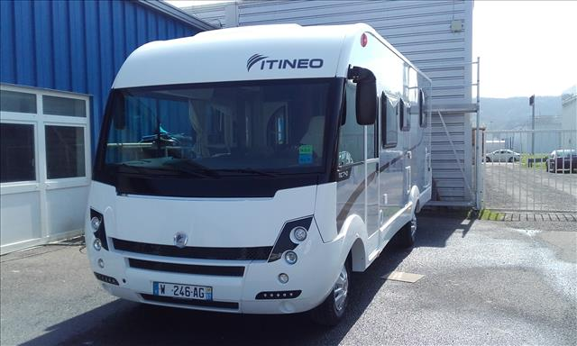 Camping car occasion itineo mb 740