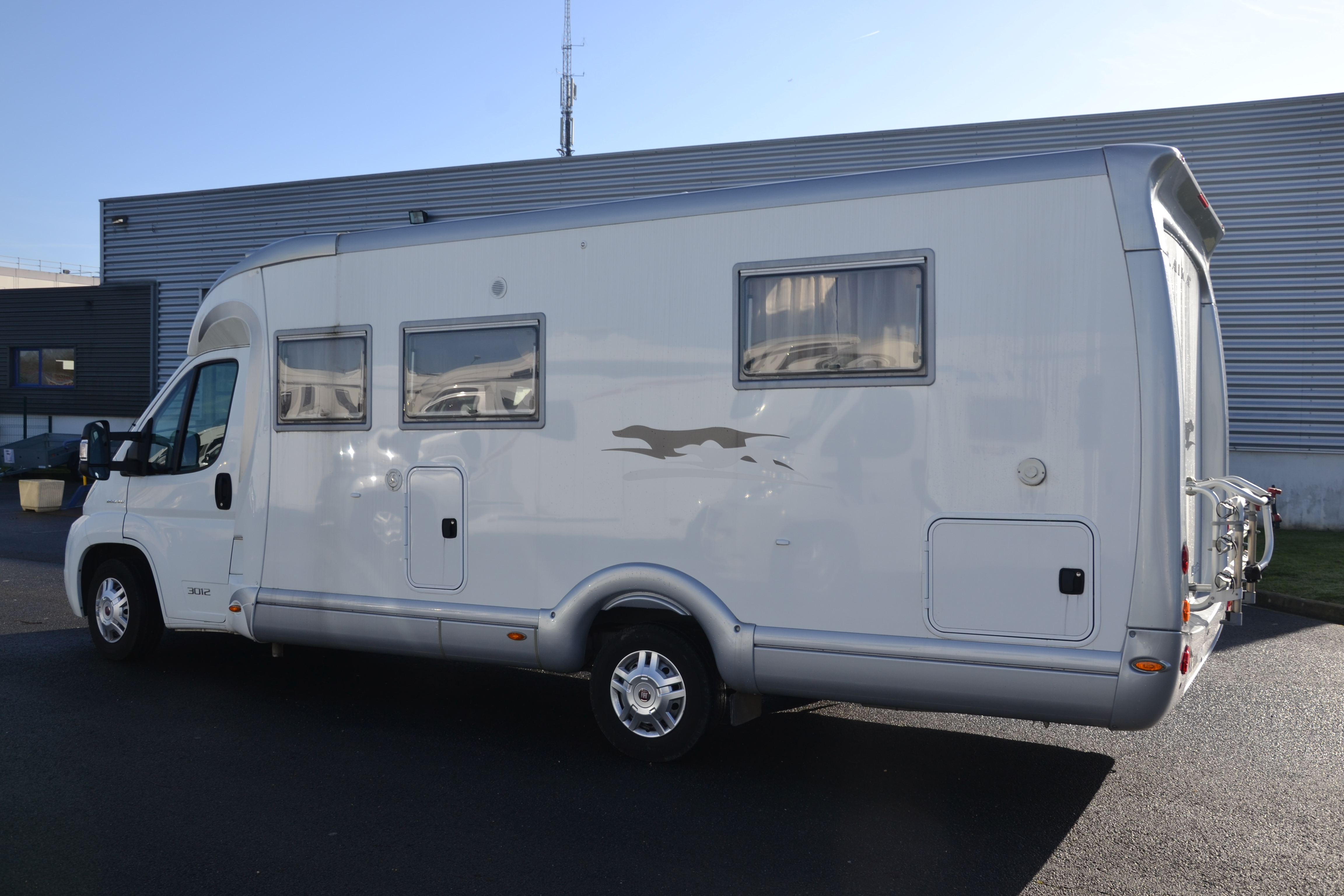 Camping car occasion 3l 160cv