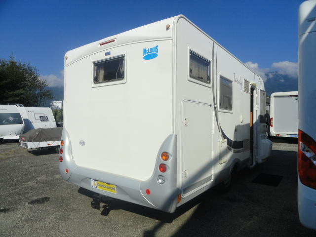 Camping car mc louis tandy 670 g occasion