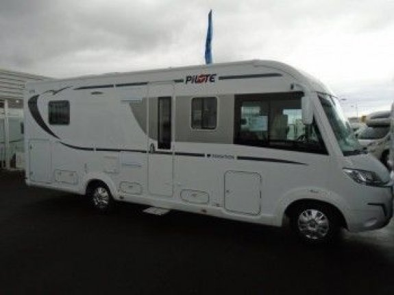 Camping car pilote 746 c sensation occasion