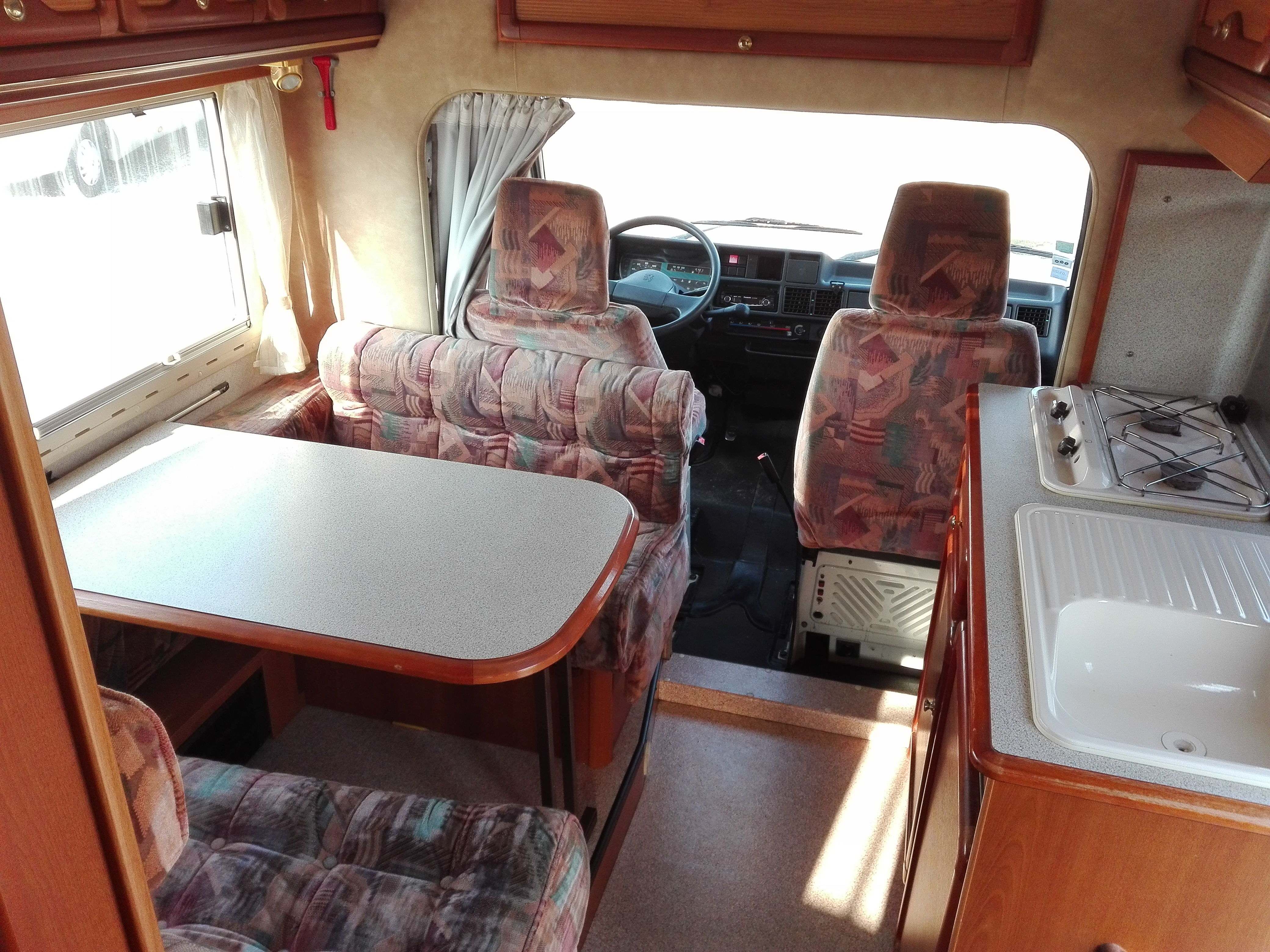 Camping car j5 occasion