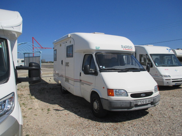 Camping car occasion ford