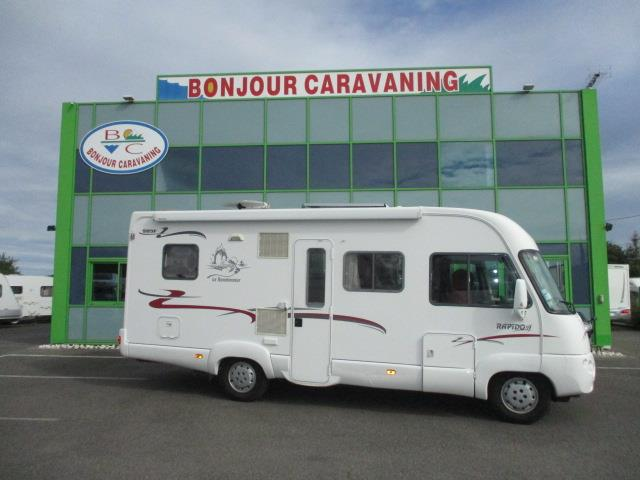 Camping car occasion bonjour caravaning 56