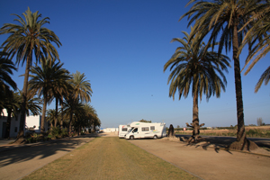 Parking camping car barcelone