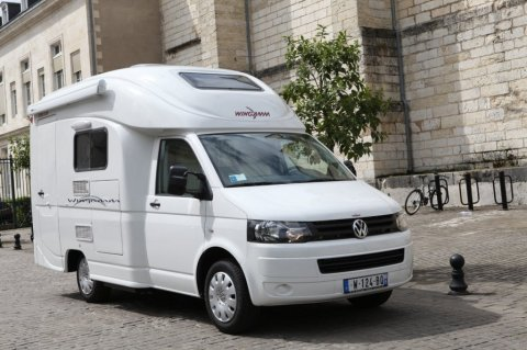 Petit camping car occasion 2 places