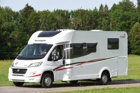 Camping car sunlight t 69 s occasion