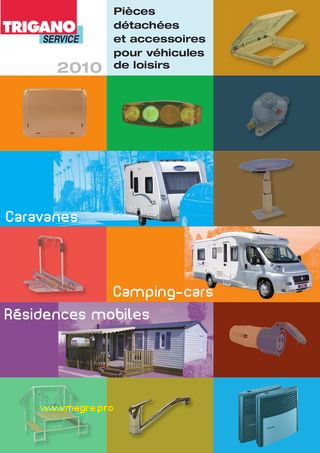 Catalogue caravane