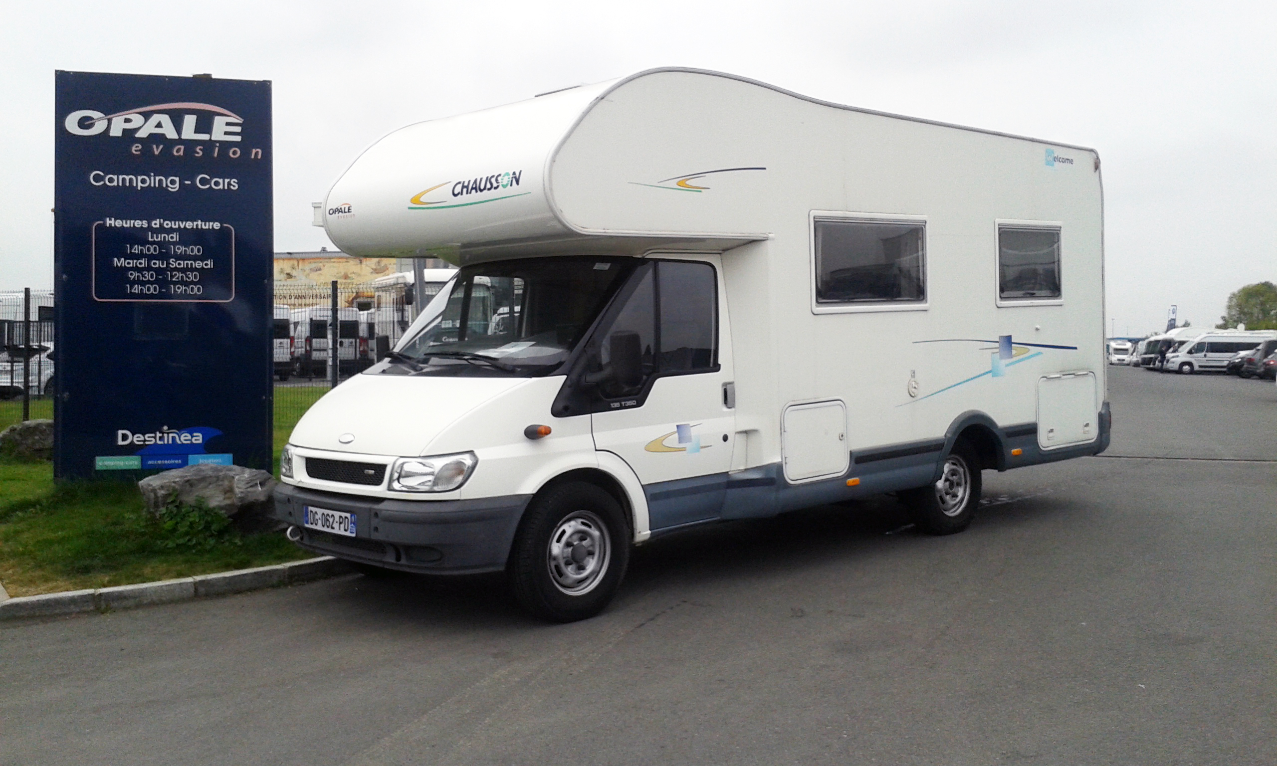 Vente camping car occasion allemagne