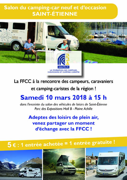 Salon du camping car occasion saint etienne