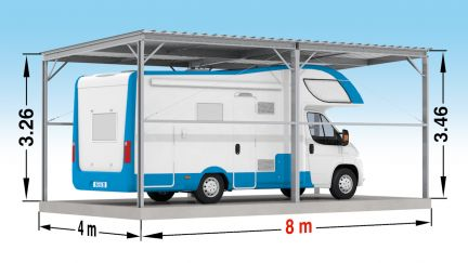 Abri camping car occasion particulier
