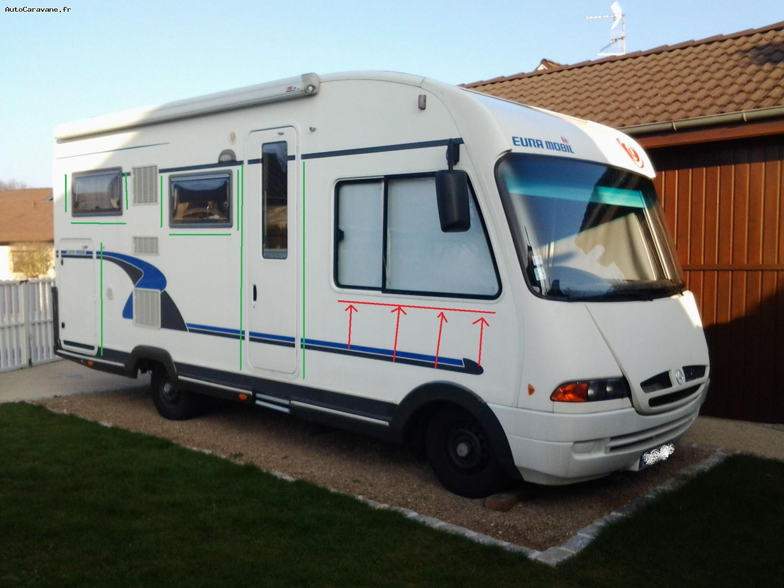 Camping car occasion eura mobil
