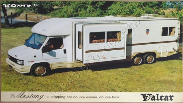 Camping car double essieu