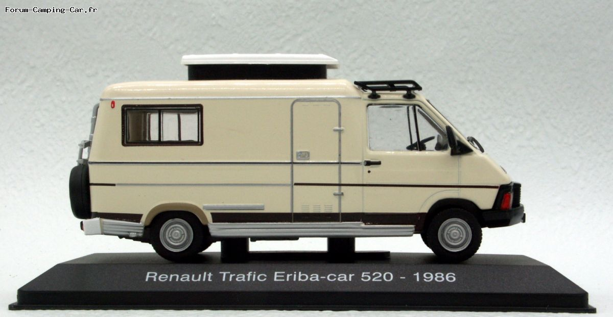 Camping car eriba occasion toit relevable