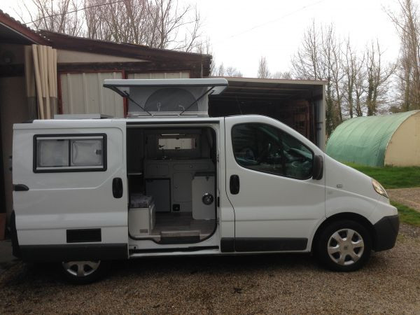 Trafic renault occasion amenage camping car