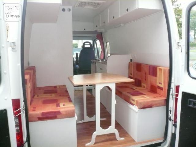Camping car boxer occasion