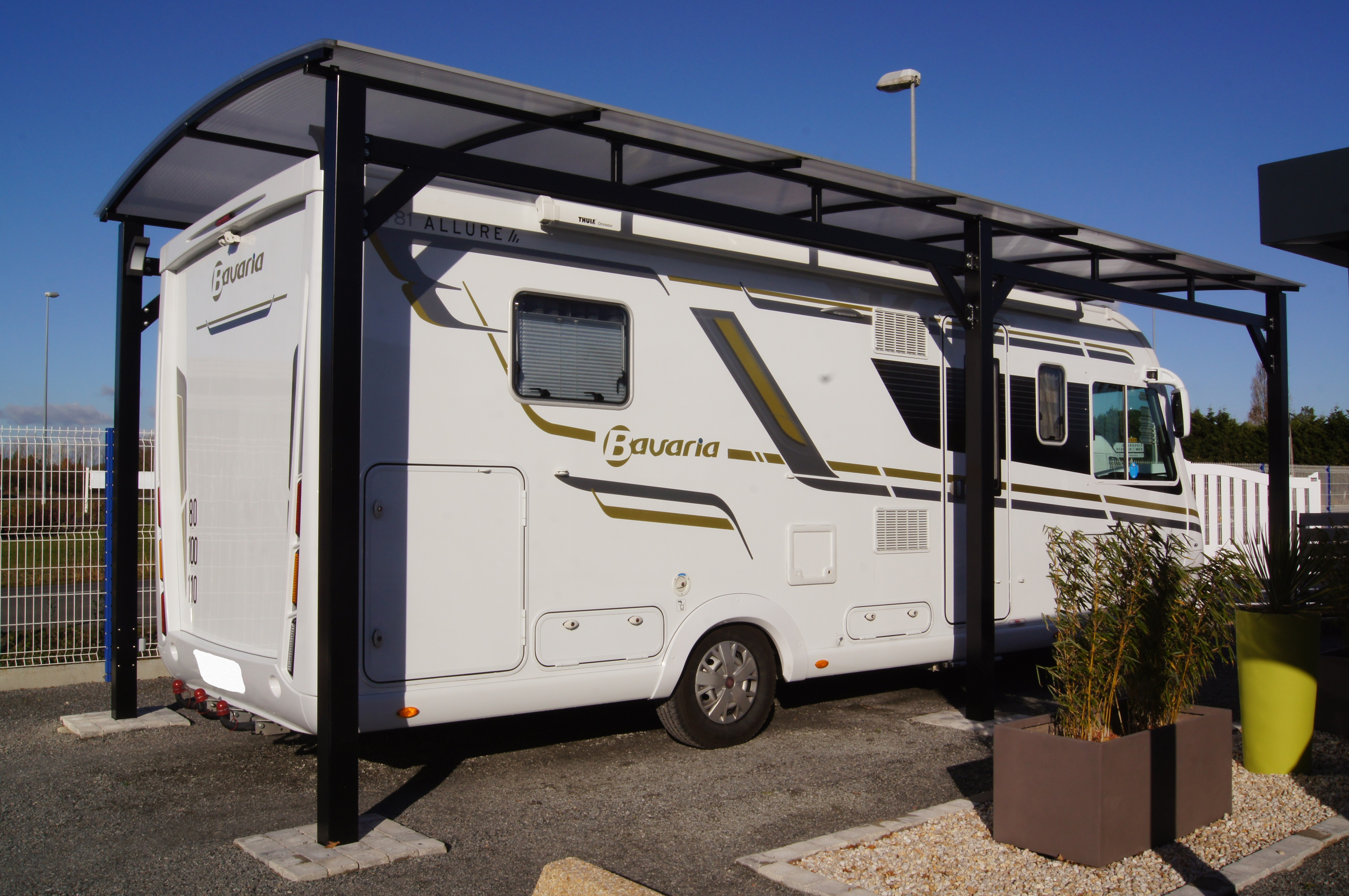 Achat abri camping car occasion