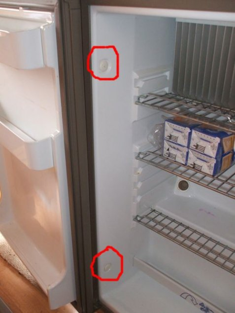 Comment demonter un frigo de caravane