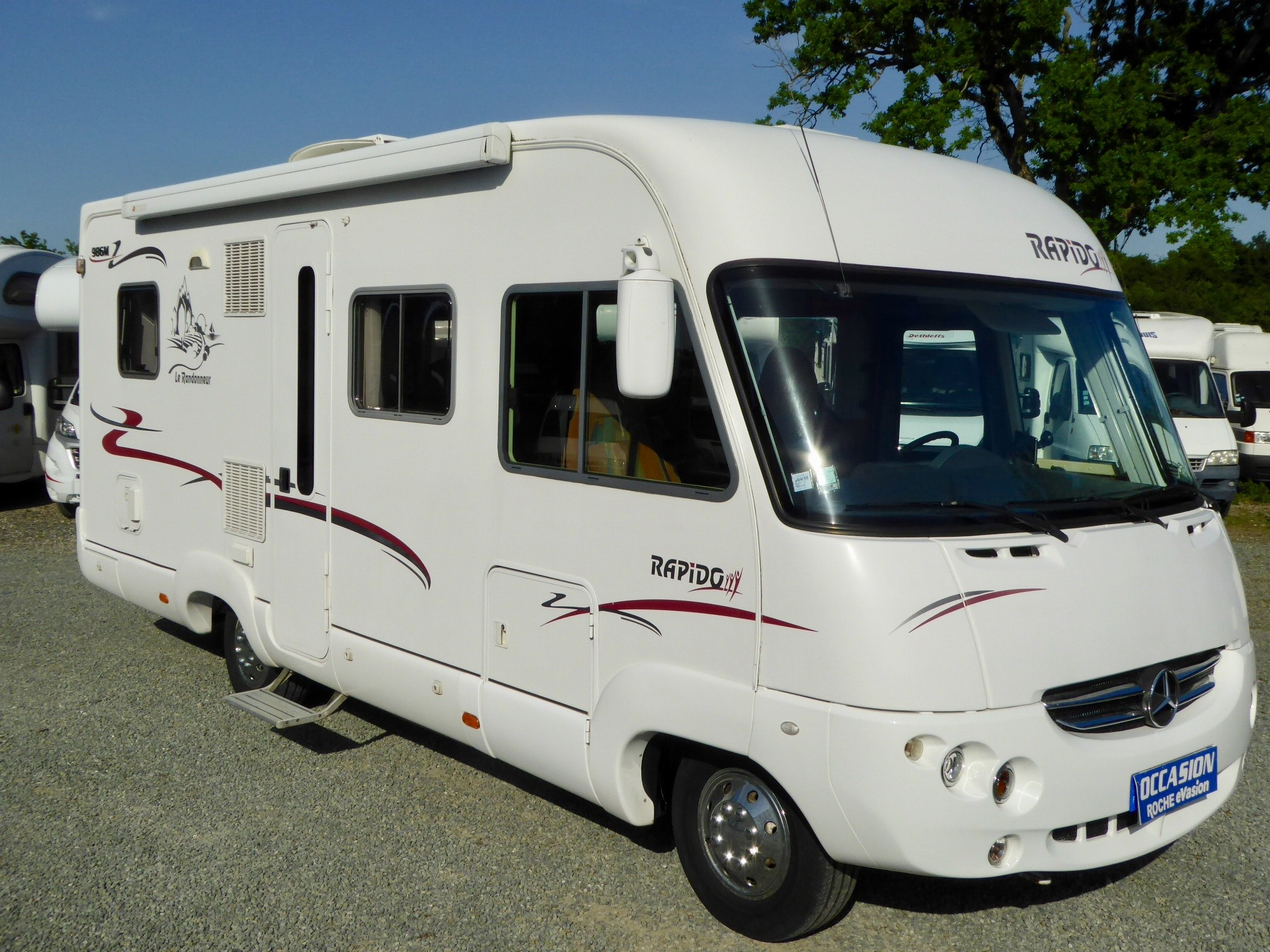 Camping car integral occasion rapido