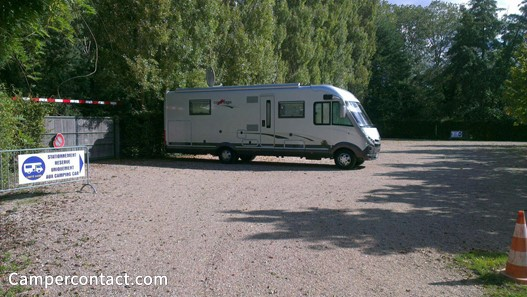 Aire camping car amboise