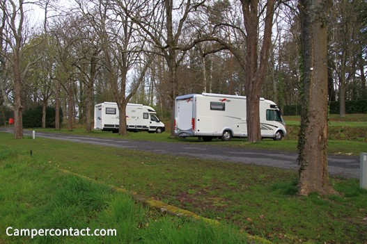 Application camping car park