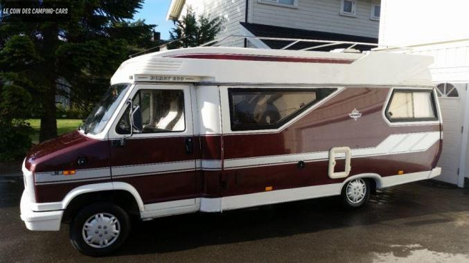 Camping car occasion hobby 600