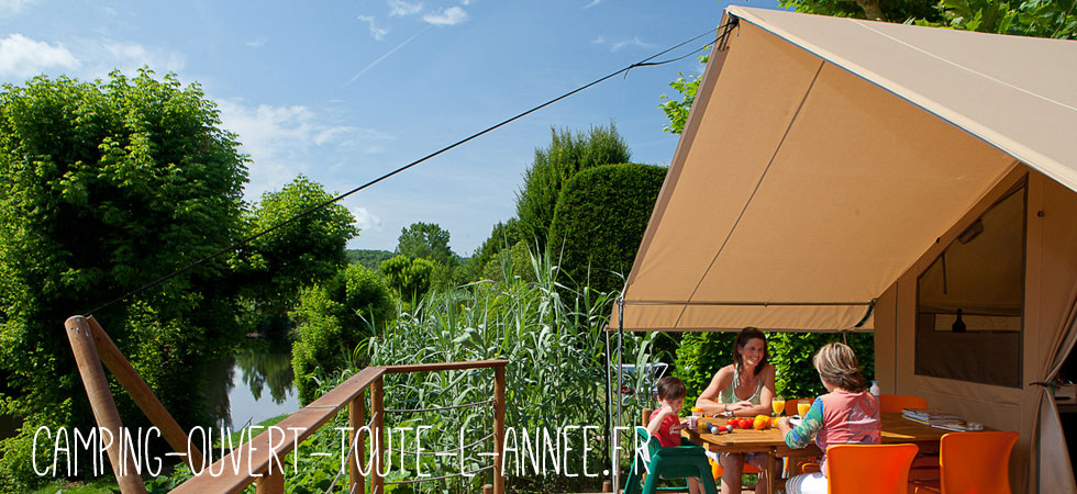 Camping ouvert toute l'année camping yelloh ardeche
