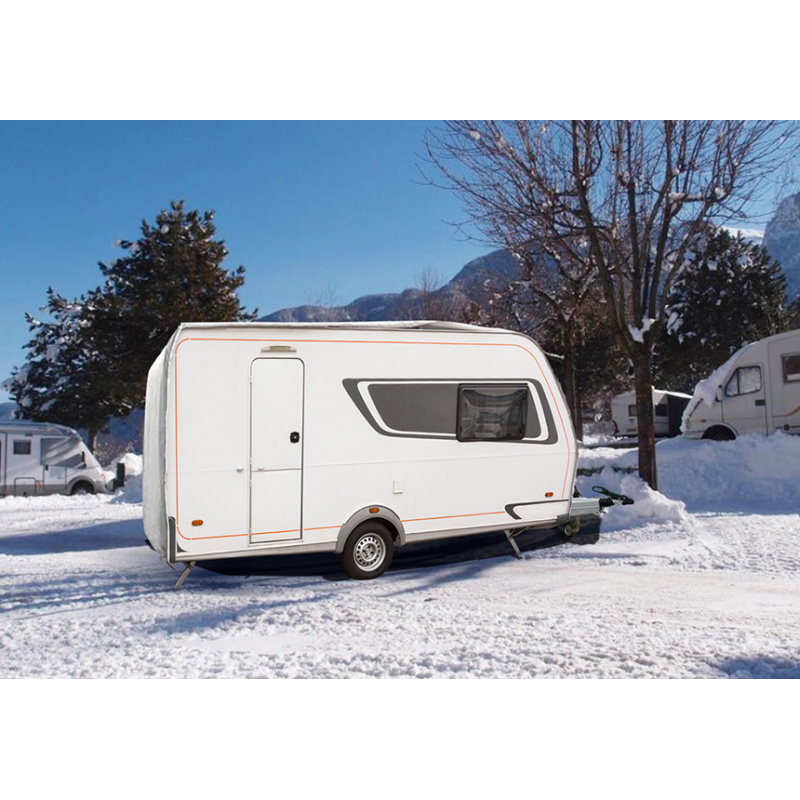 Protection caravane hiver